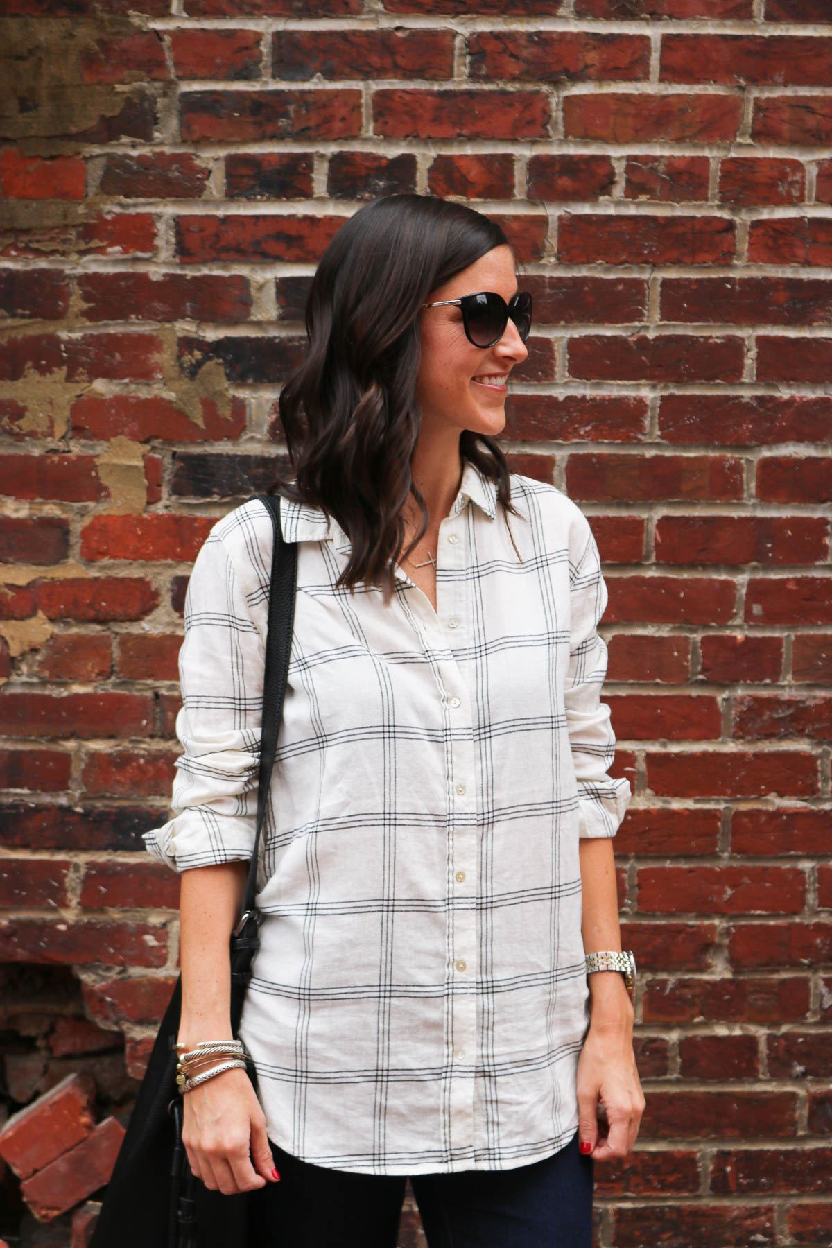 H&M Plaid