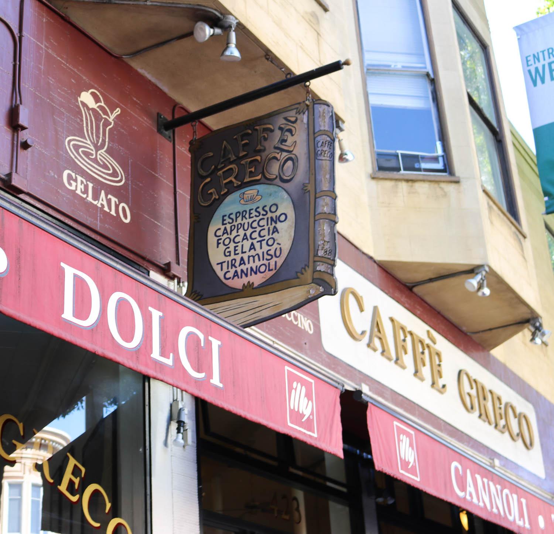 Caffe Greco San Francisco