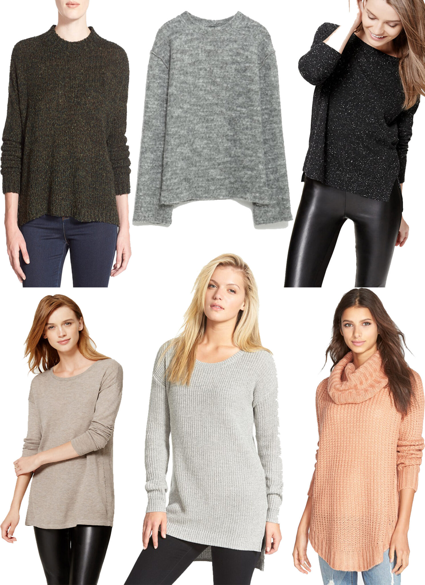 Neutral Sweaters