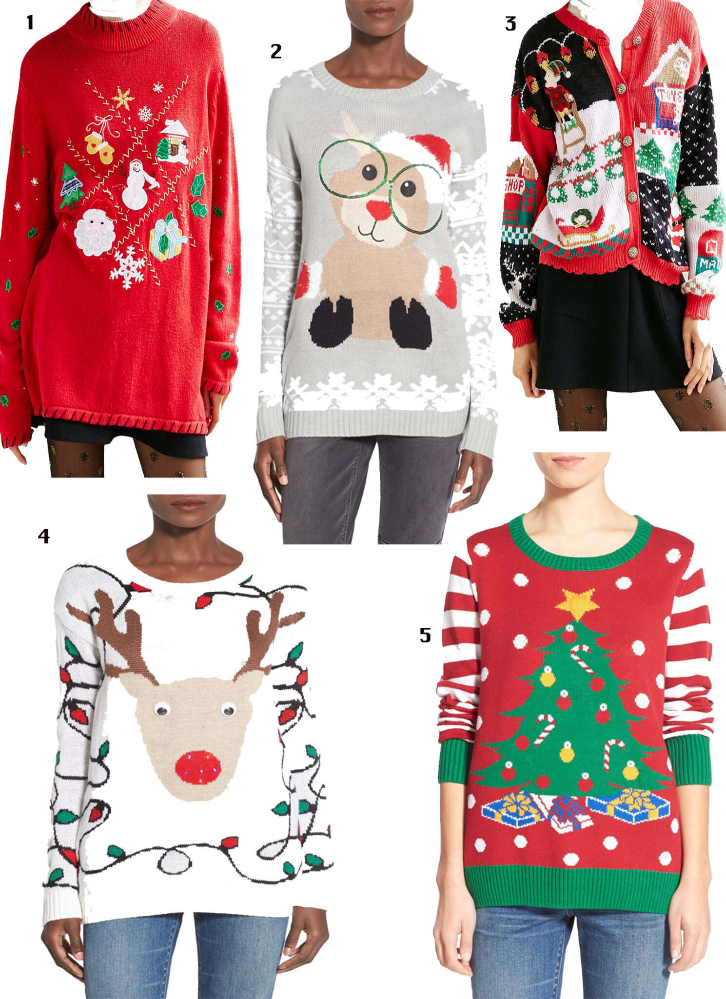 Tis The Season | Holiday Sweaters