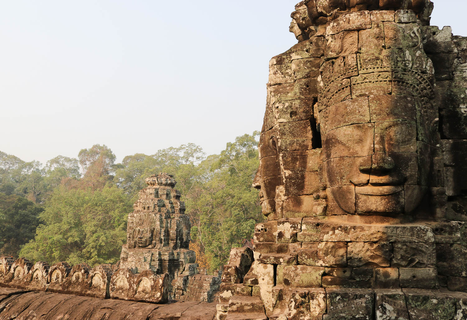Bayon Temple Siem Reap, Cambodia
