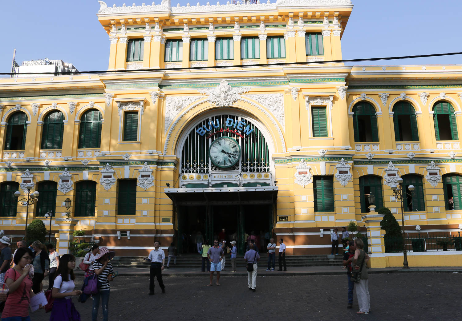 Central Post Office | Ho Chi Minh City Travel Guide | Cobalt Chronicles | Travel Blogger