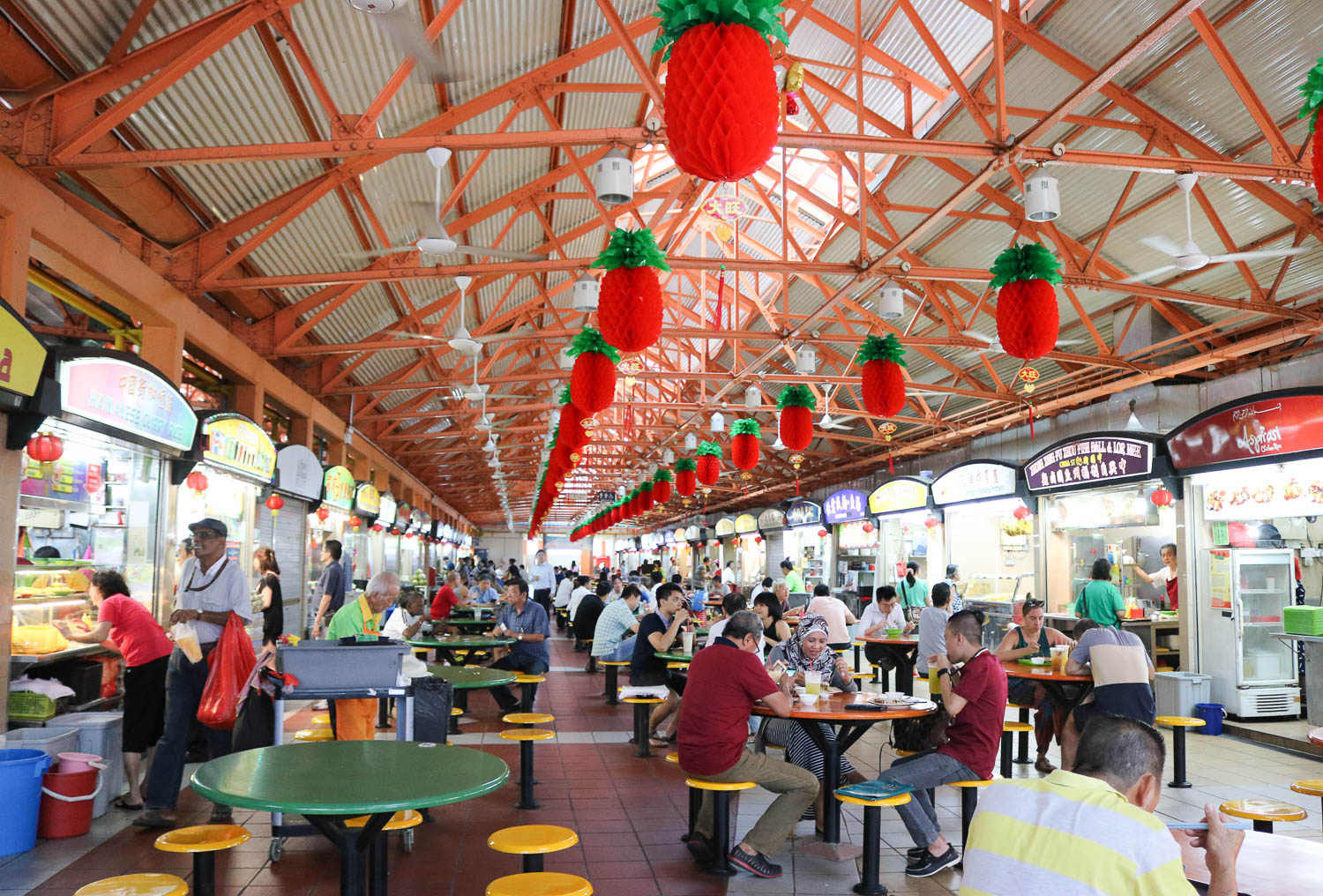Maxwell Road Hawker Centre Singapore | Cobalt Chronicles