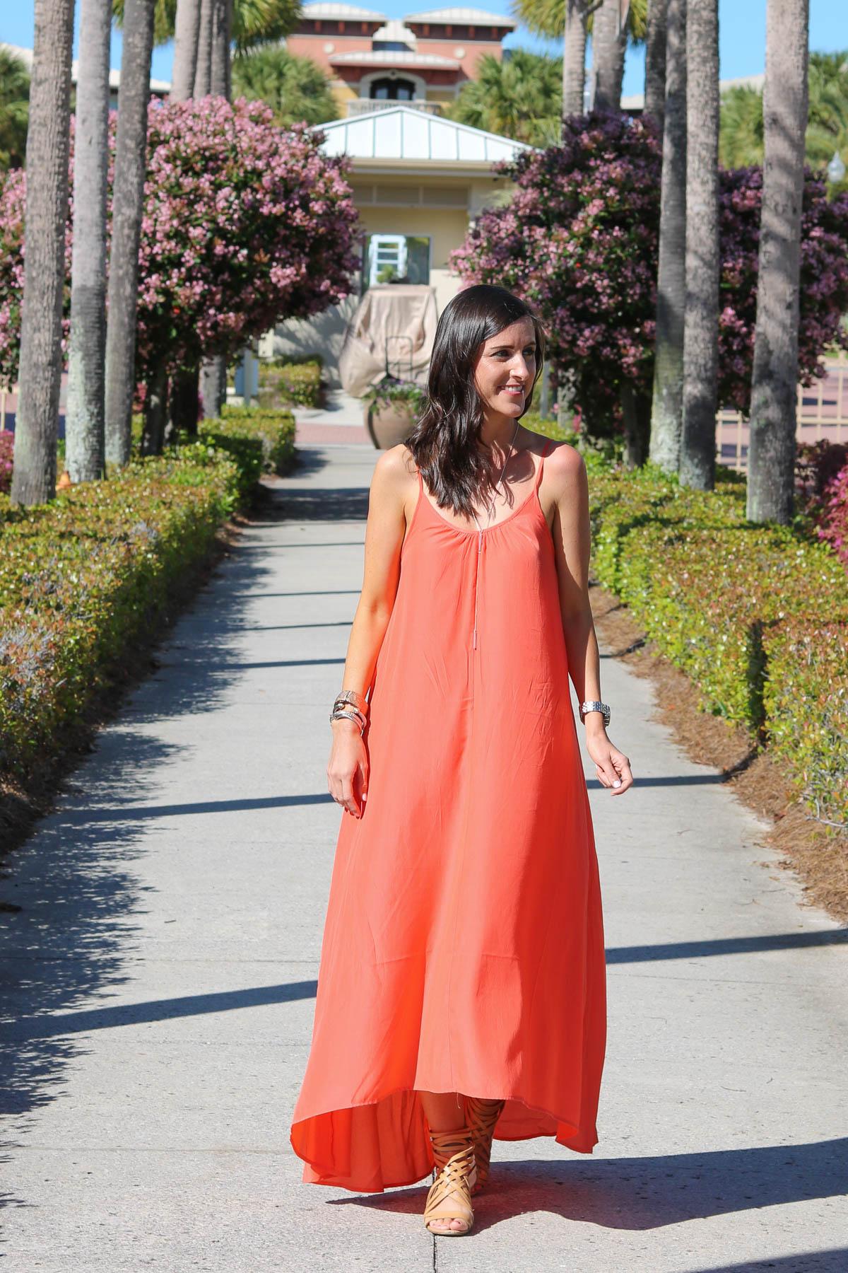 Shopbop Maxi Dress | Cobalt Chronicles | Washington, DC | Style Blogger