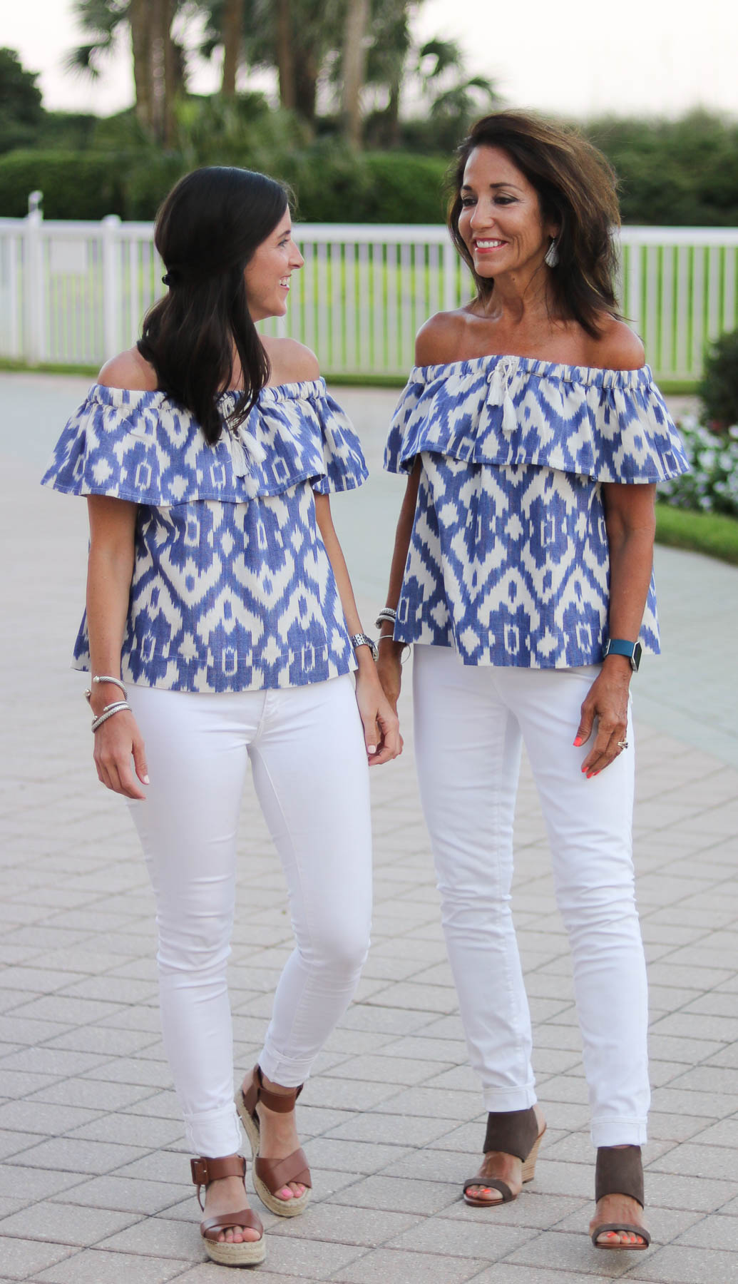 Madewell Top with Mom