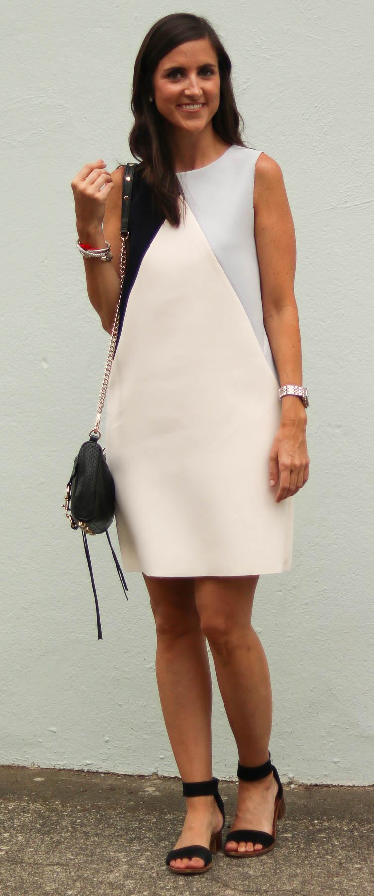 Topshop Colorblock Dress