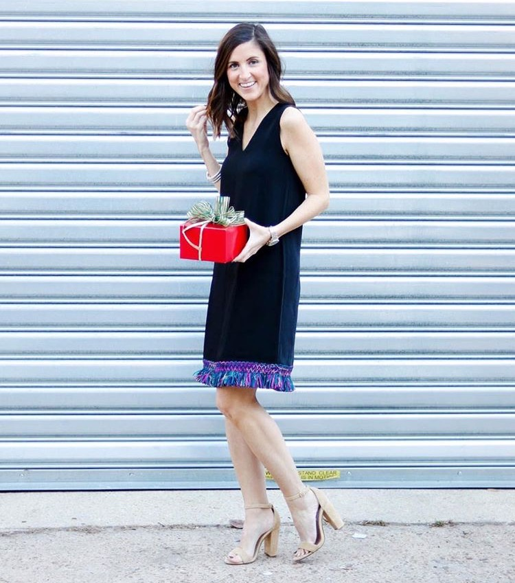 Christmas Outfit Idea by Washington DC fashion blogger Cobalt Chronicles