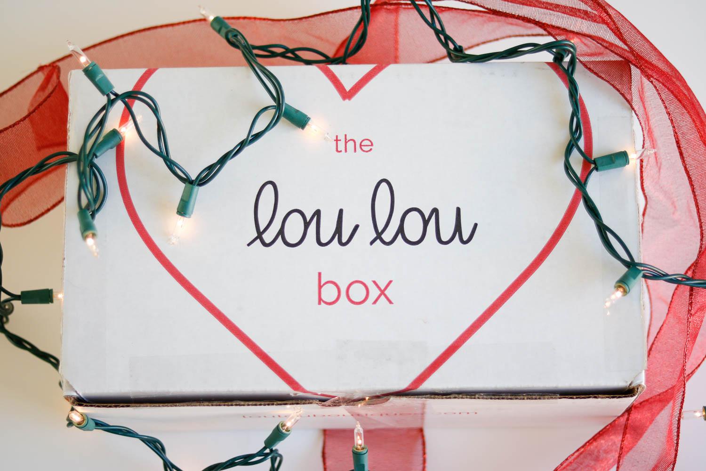 lou lou box - Unique Christmas Gift Idea   The Lou Lou Box by Washington DC style blogger Cobalt Chronicles