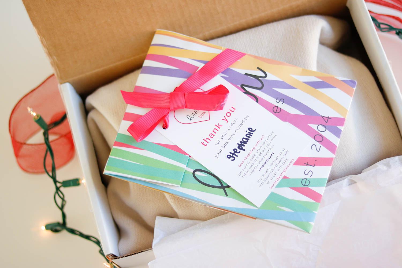 lou lou box subscription - Unique Christmas Gift Idea   The Lou Lou Box by Washington DC style blogger Cobalt Chronicles