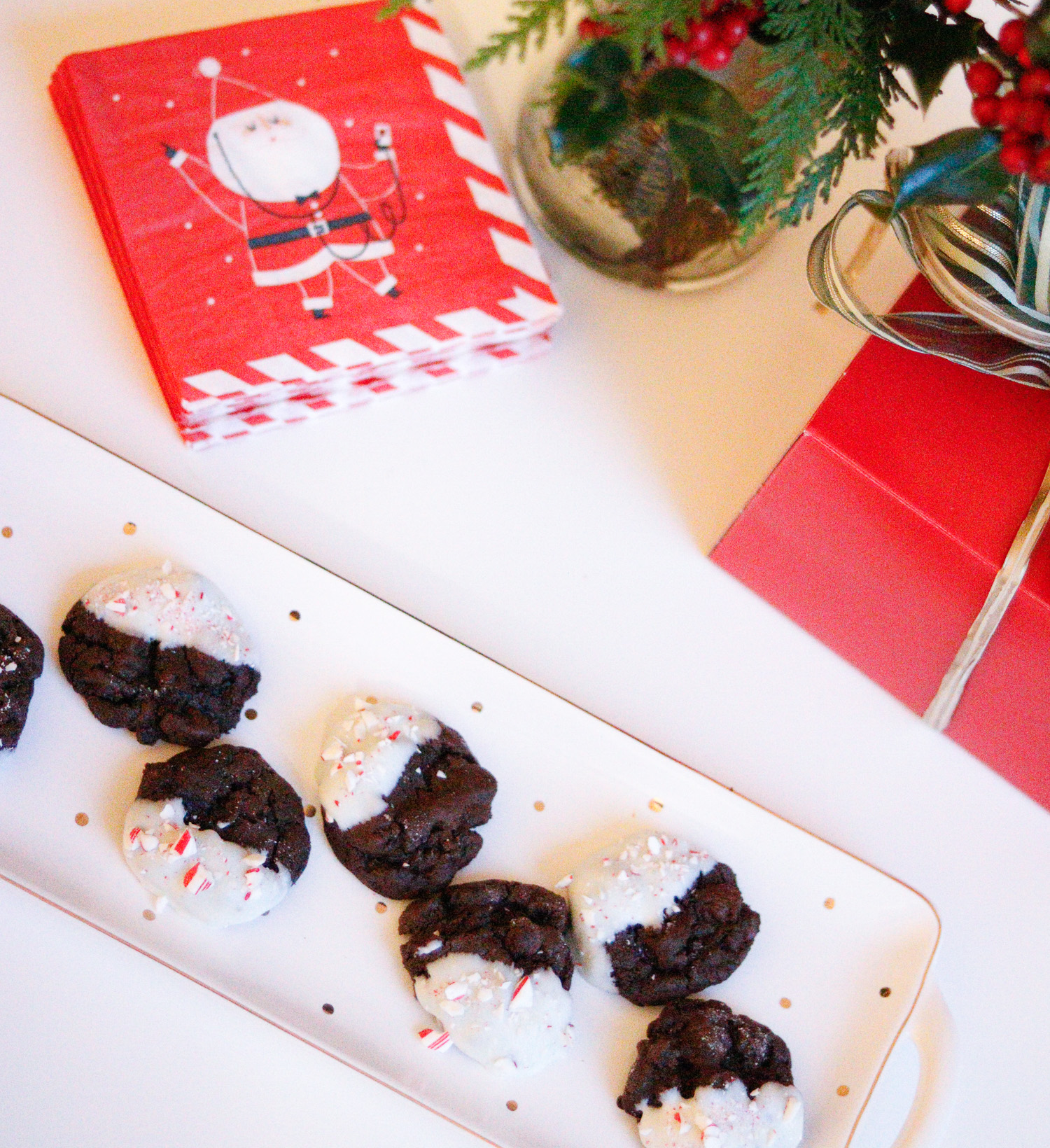 Peppermint Chocolate Chunk Cookie Recipe | Cobalt Chronicles | Washington, DC | Style Blogger