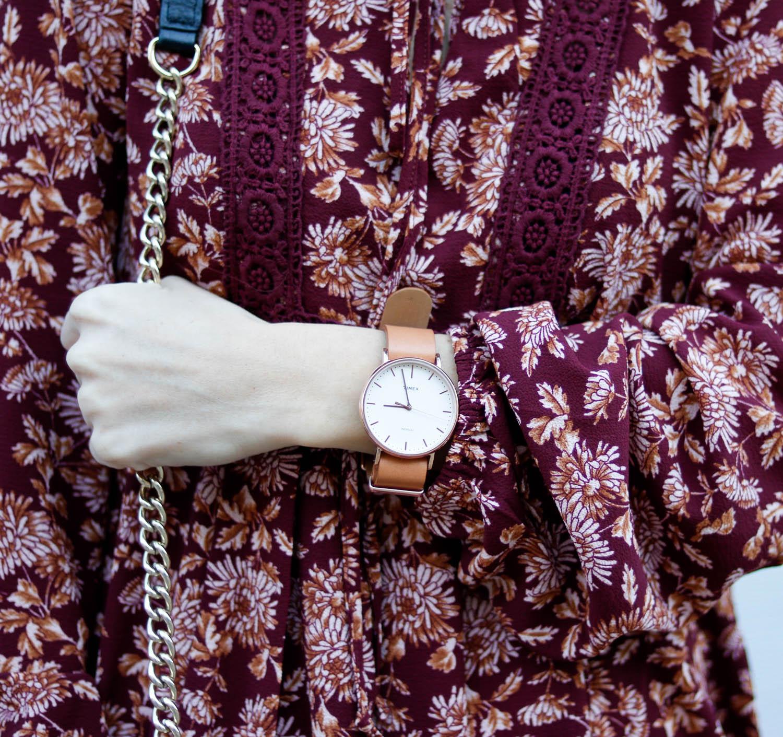 Timex watch.