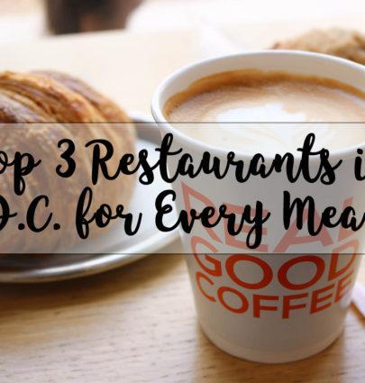 Top DC Restaurants @cobaltchronicle