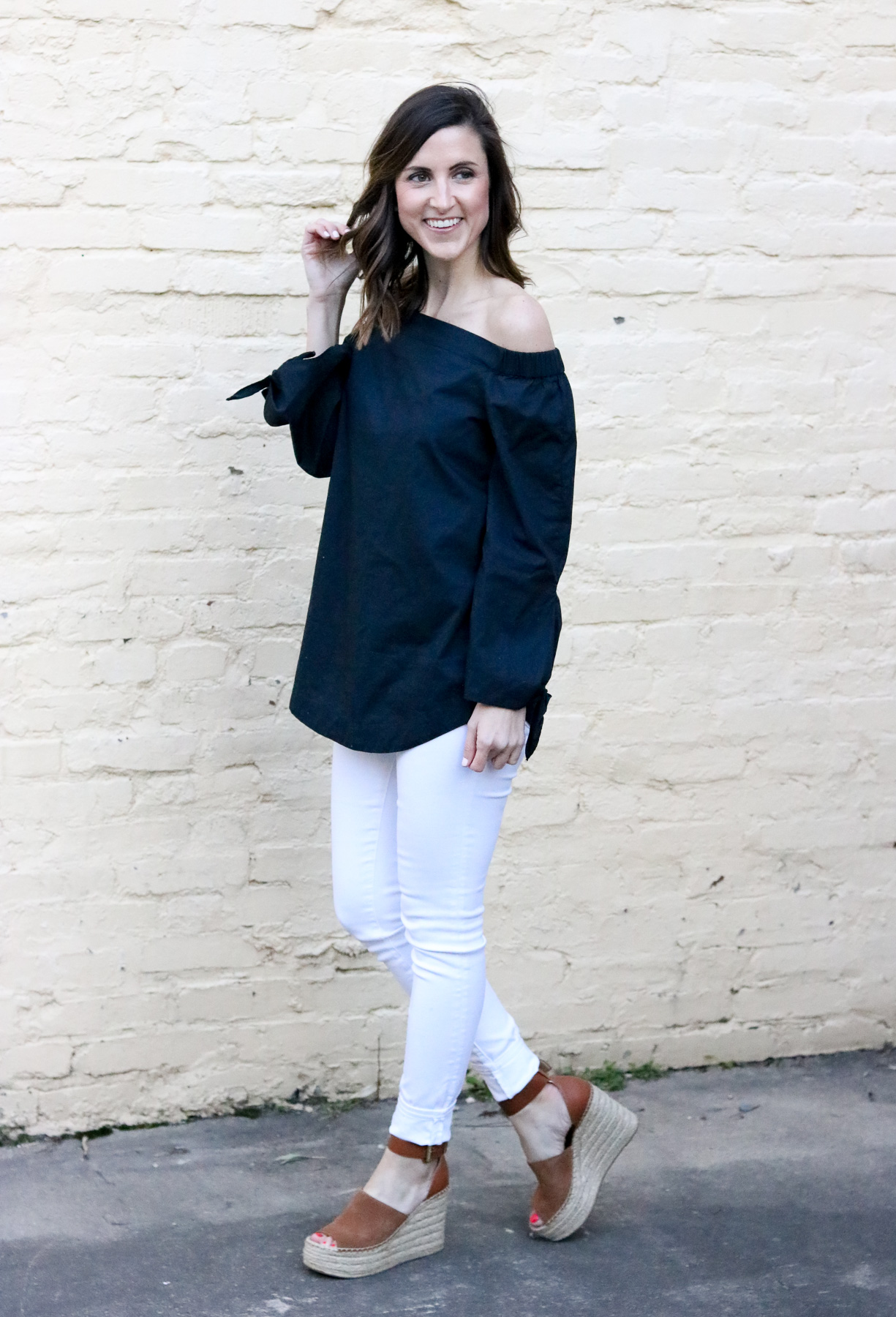 Off the Shoulder Top - Cobalt Chronicles @cobaltchronicle