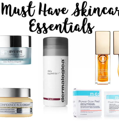 5 Must Have Skincare Essentials @cobaltchronicle