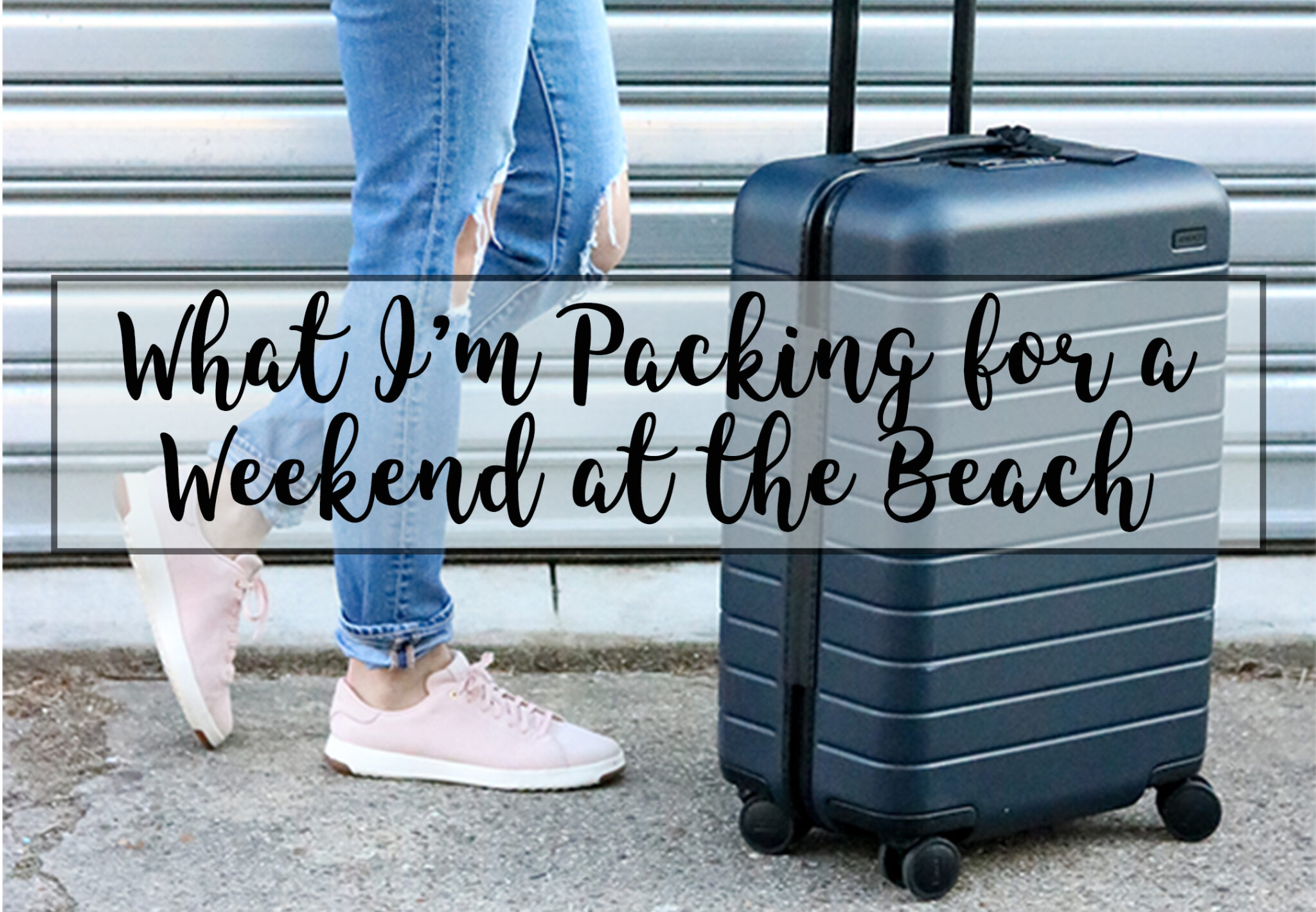 Packing for a Weekend at the Beach - Cobalt Chronicles - @cobaltchronicle