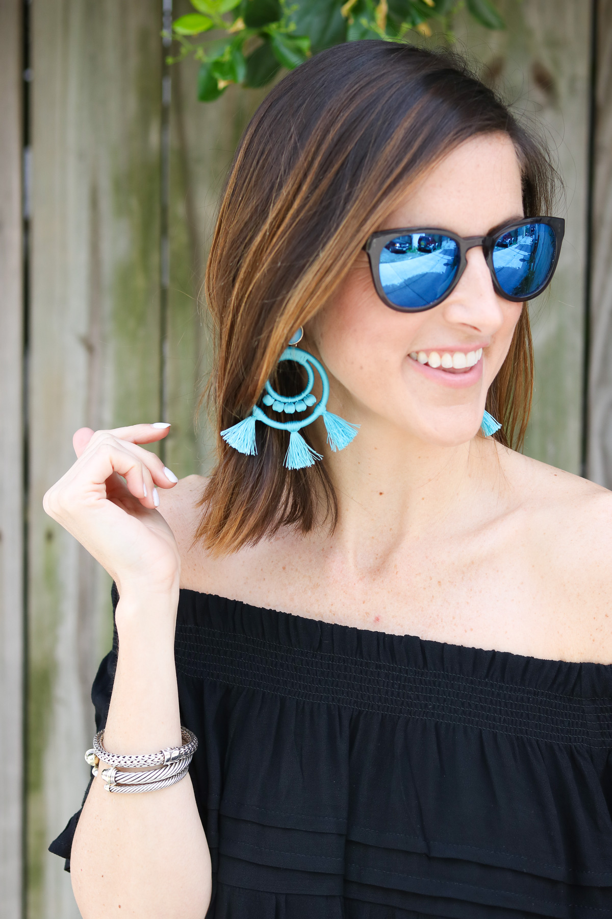 Turquoise-Statement-Earrings