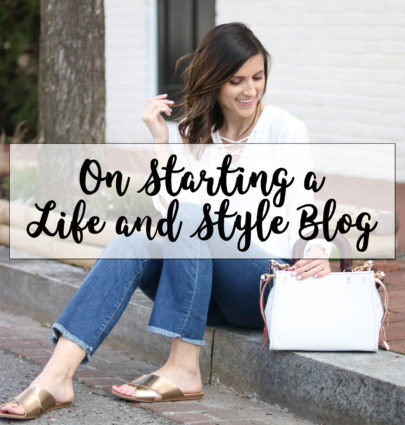 On Starting a Life and Style Blog @cobaltchronicle