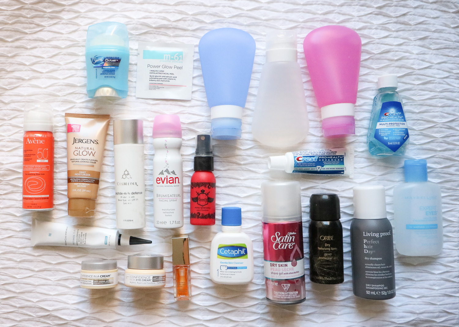 Travel Toiletry Necessities – What I Packed for Two Weeks In Europe (In My Carry-On!)