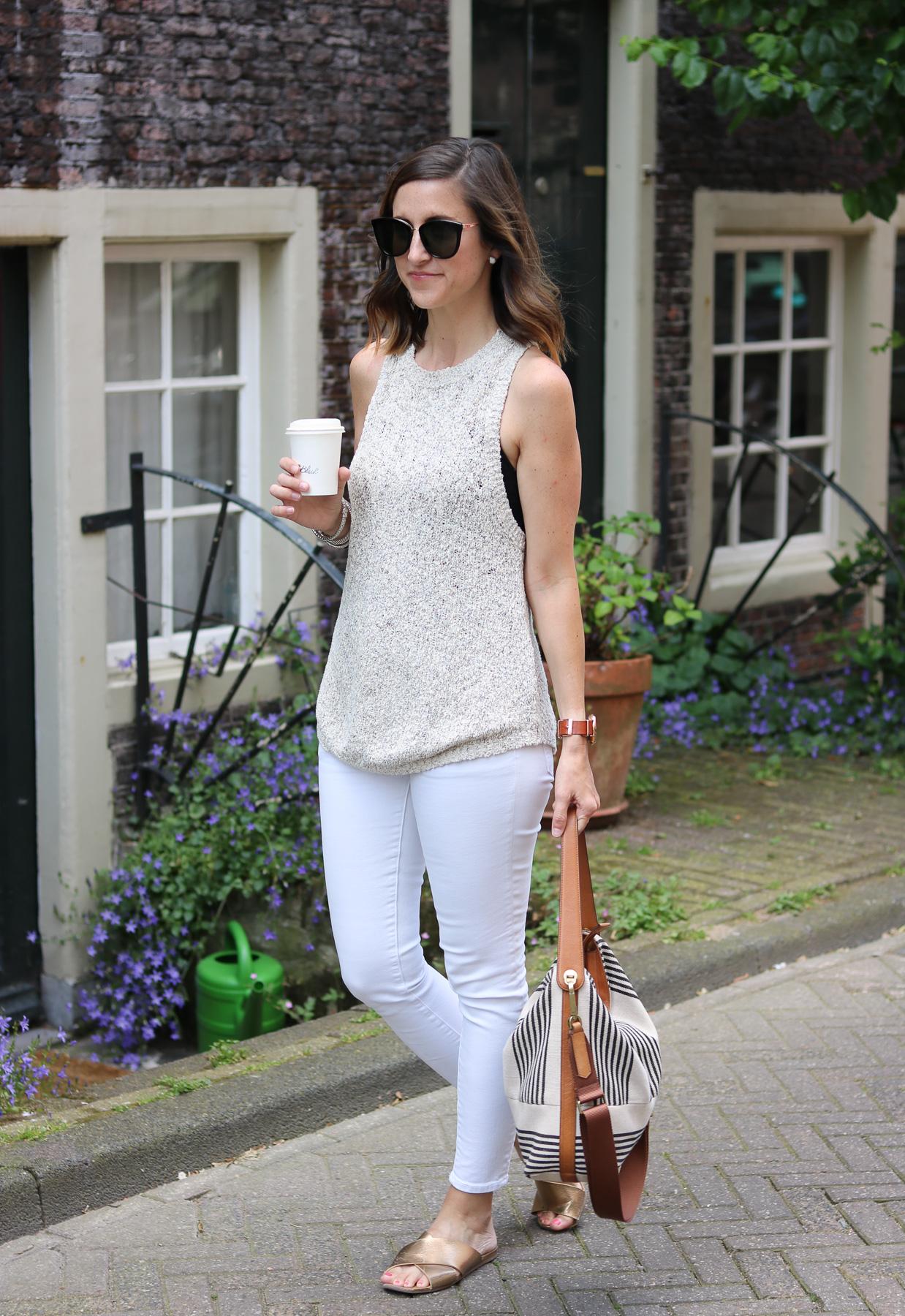 Neutral Look, Summer Sweater