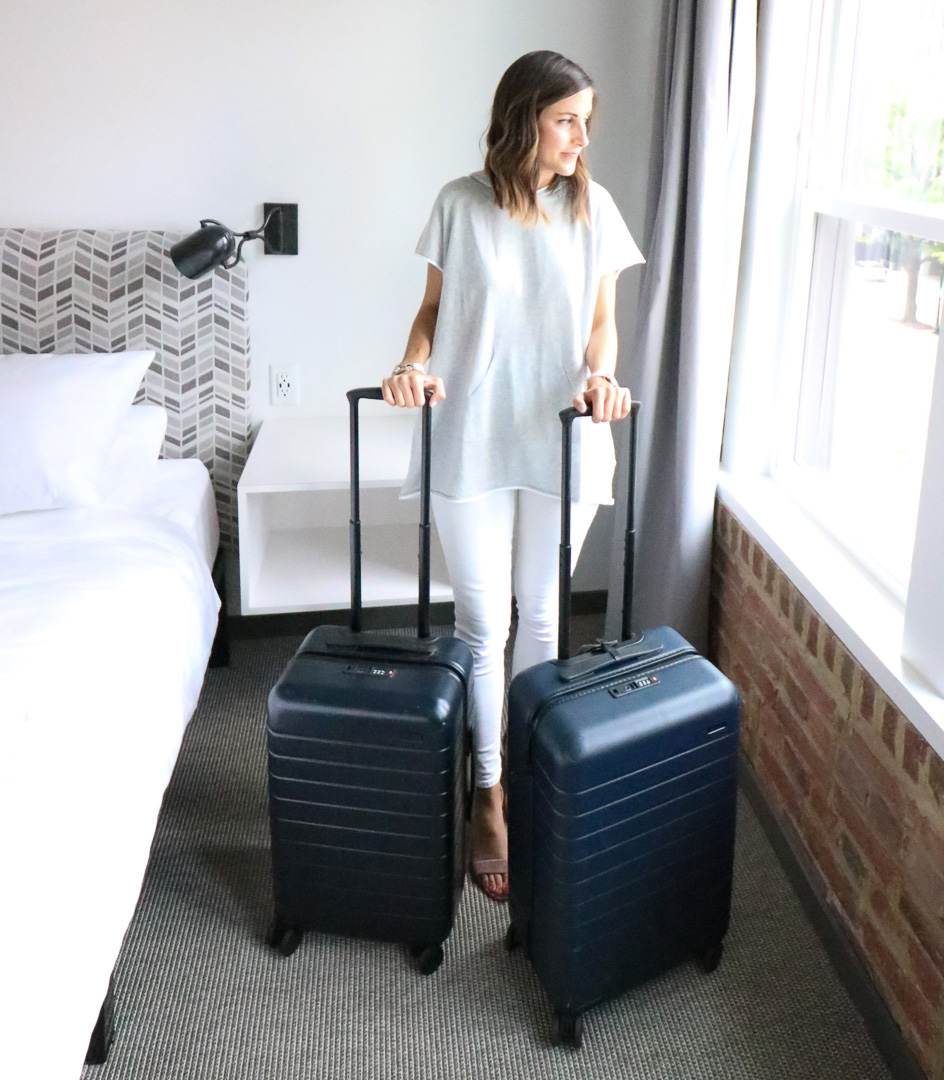 Away Carry-On Bag Review - Away Carry On Bag Comparison by popular Washington DC lifestyle blogger Cobalt Chronicles