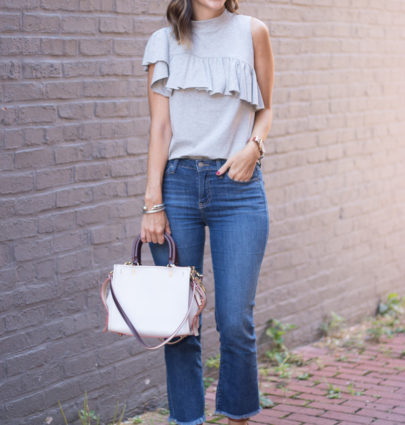 Nordstrom Sale Ruffle Top