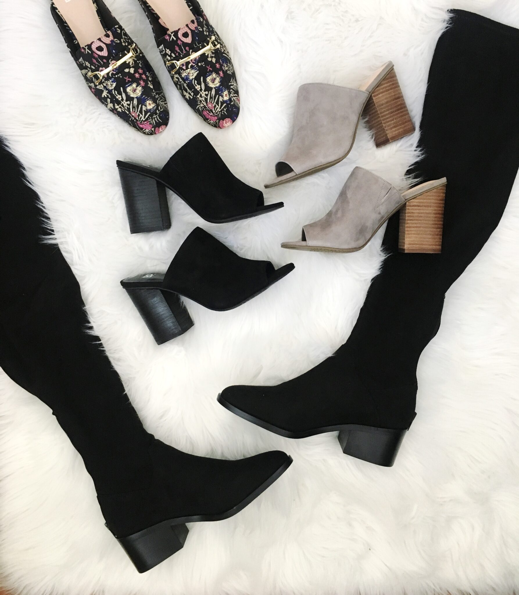 Fall Shoe Roundup - Nordstrom Anniversary Sale Try On Session by popular Washington DC style blogger Cobalt Chronicles