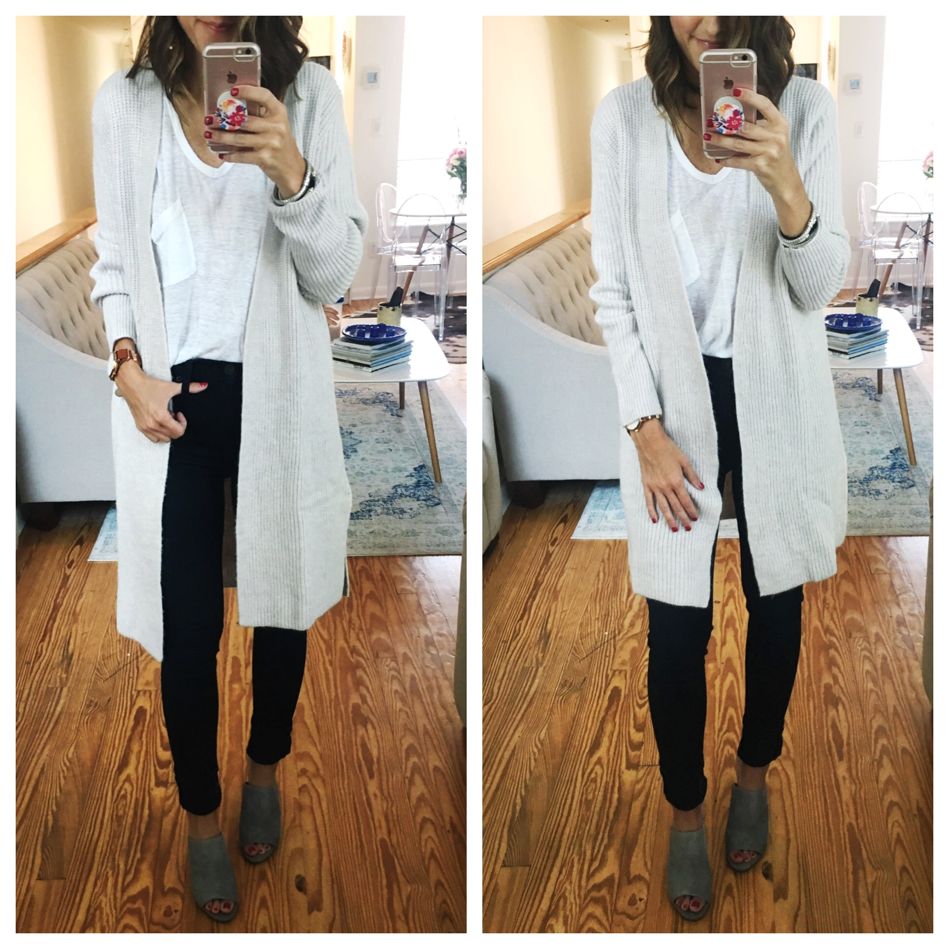 Cozy-Cardigan - Nordstrom Anniversary Sale Try On Session by popular Washington DC style blogger Cobalt Chronicles