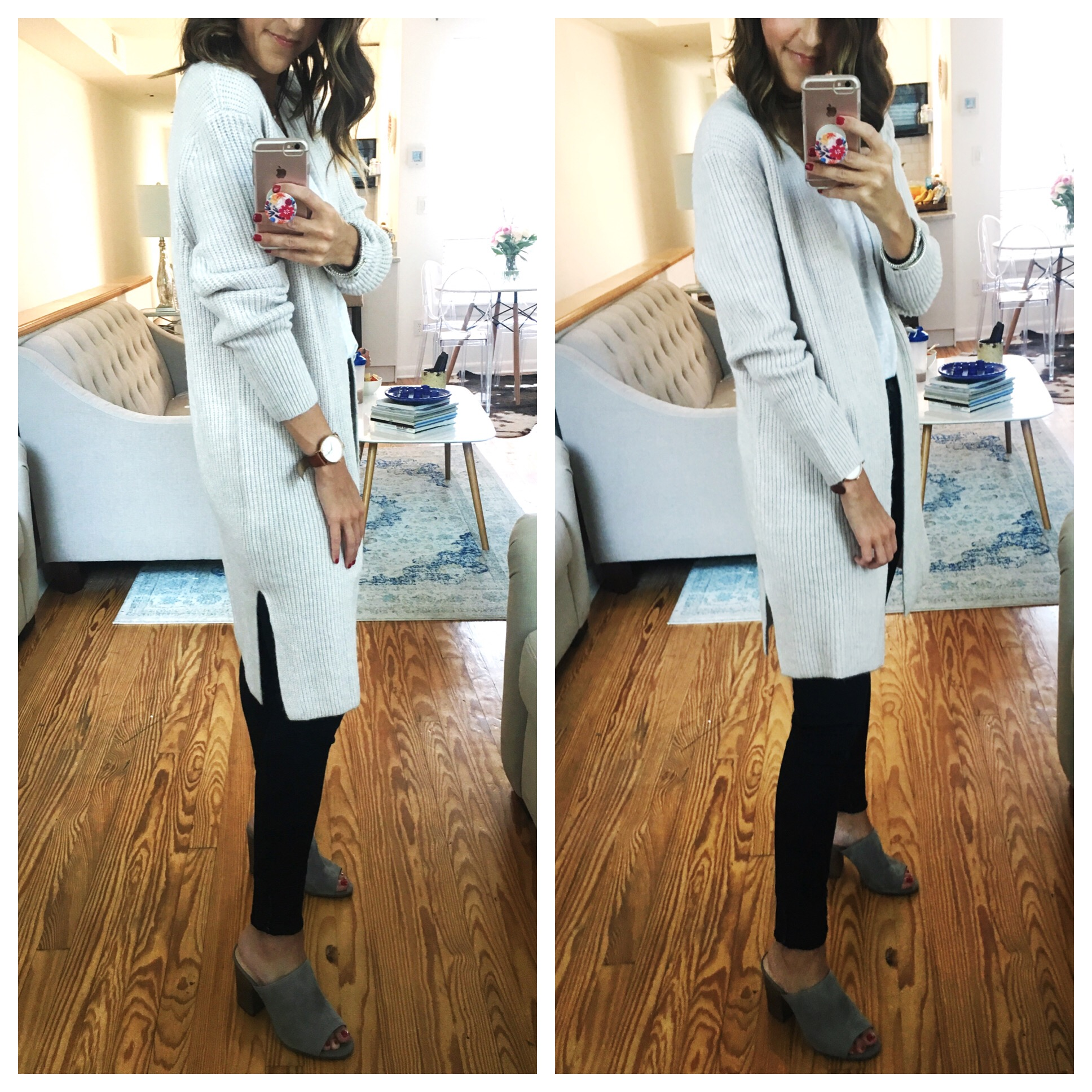 Long, Cozy Cardigan - Nordstrom Anniversary Sale Try On Session by popular Washington DC style blogger Cobalt Chronicles