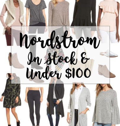 Nordstrom Anniversary Sale In Stock Under $100 | Cobalt Chronicles | Washington, DC Fashion Blogger