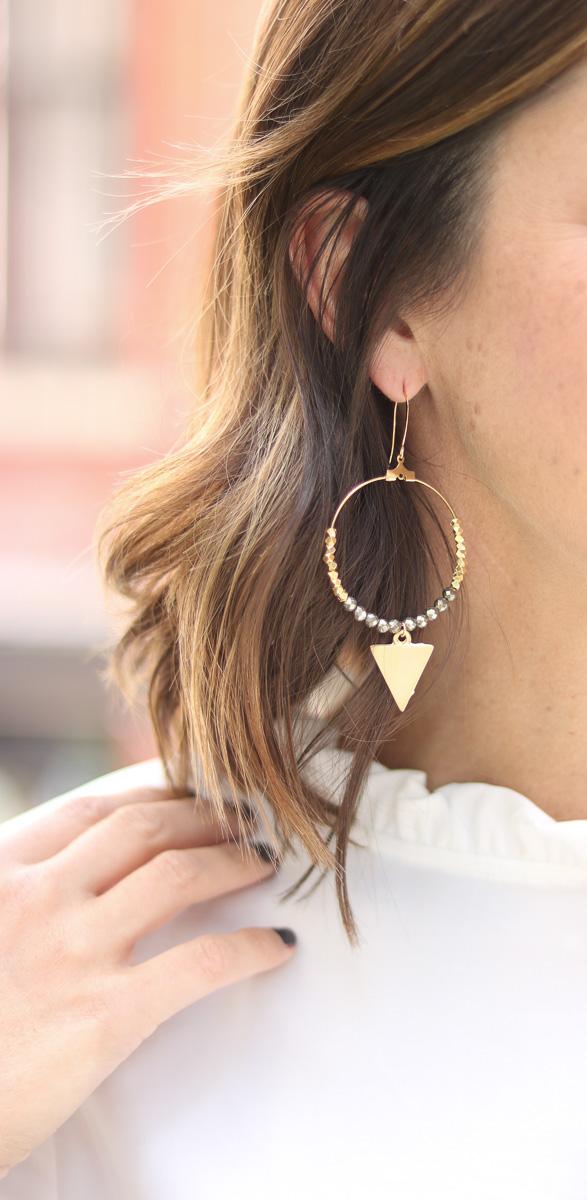 Shop SoSis Boutique Annie Claire Designs Earrings by popular Washington DC fashion blogger Cobalt Chronicles