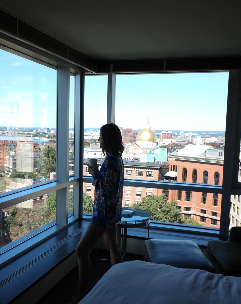 A Weekend at the Kimpton Nine Zero Boston