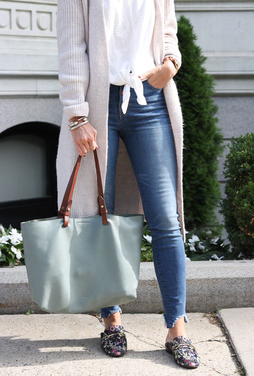 Fall Uniform Mule Loafers