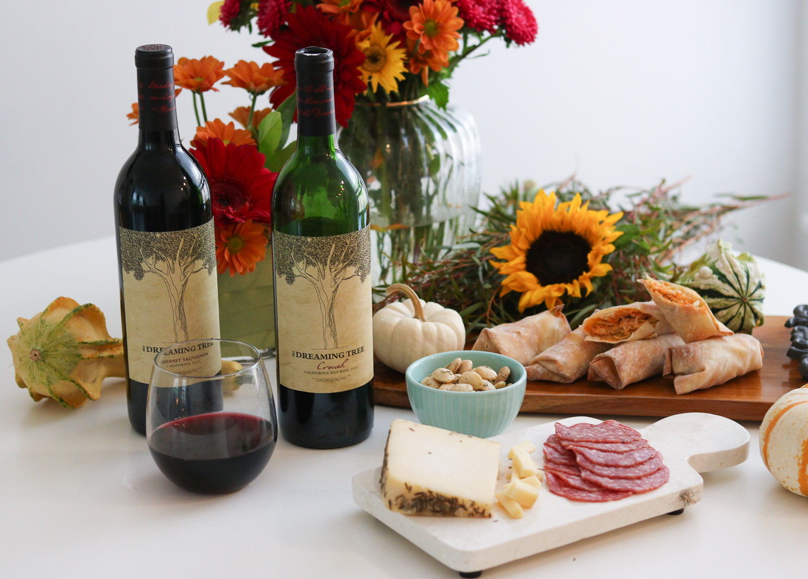 The Dreaming Tree Wines + An Easy Fall Football Recipe!