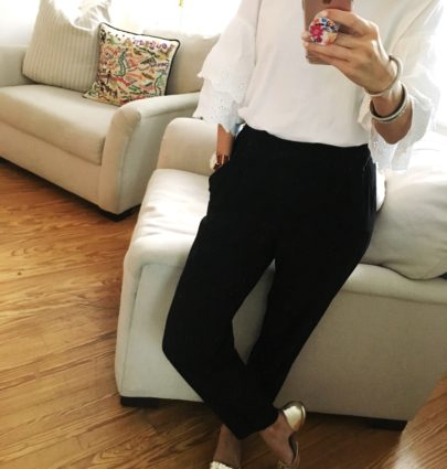 Work Wear / Gold Flats