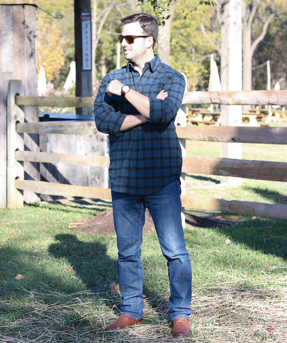 Filson Flannel Button-Down Shirt
