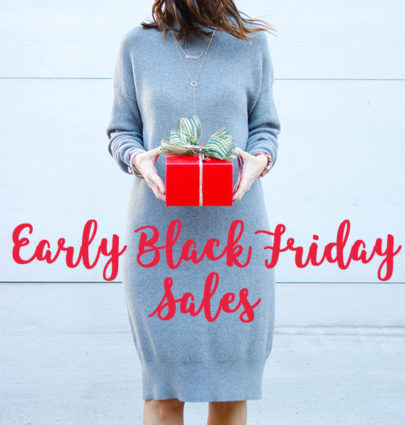 Pre-Black Friday Sales | Cobalt Chronicles | Washington, DC | Style Blogger