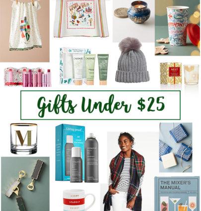 Gifts Under $25 | Cobalt Chronicles | Washington, DC Fashion Blogger