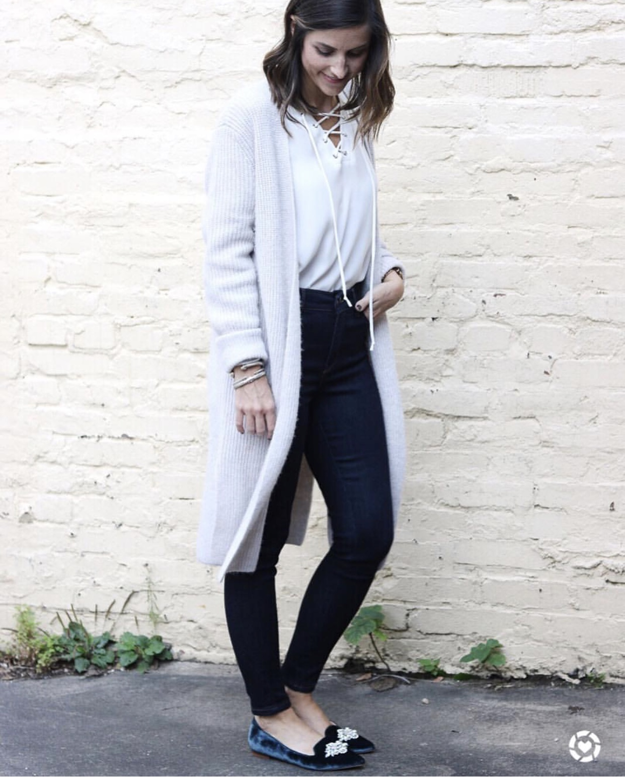 Cozy Long Cardigan - Instagram Fashion Lately by Washington DC fashion blogger Cobalt Chronicles