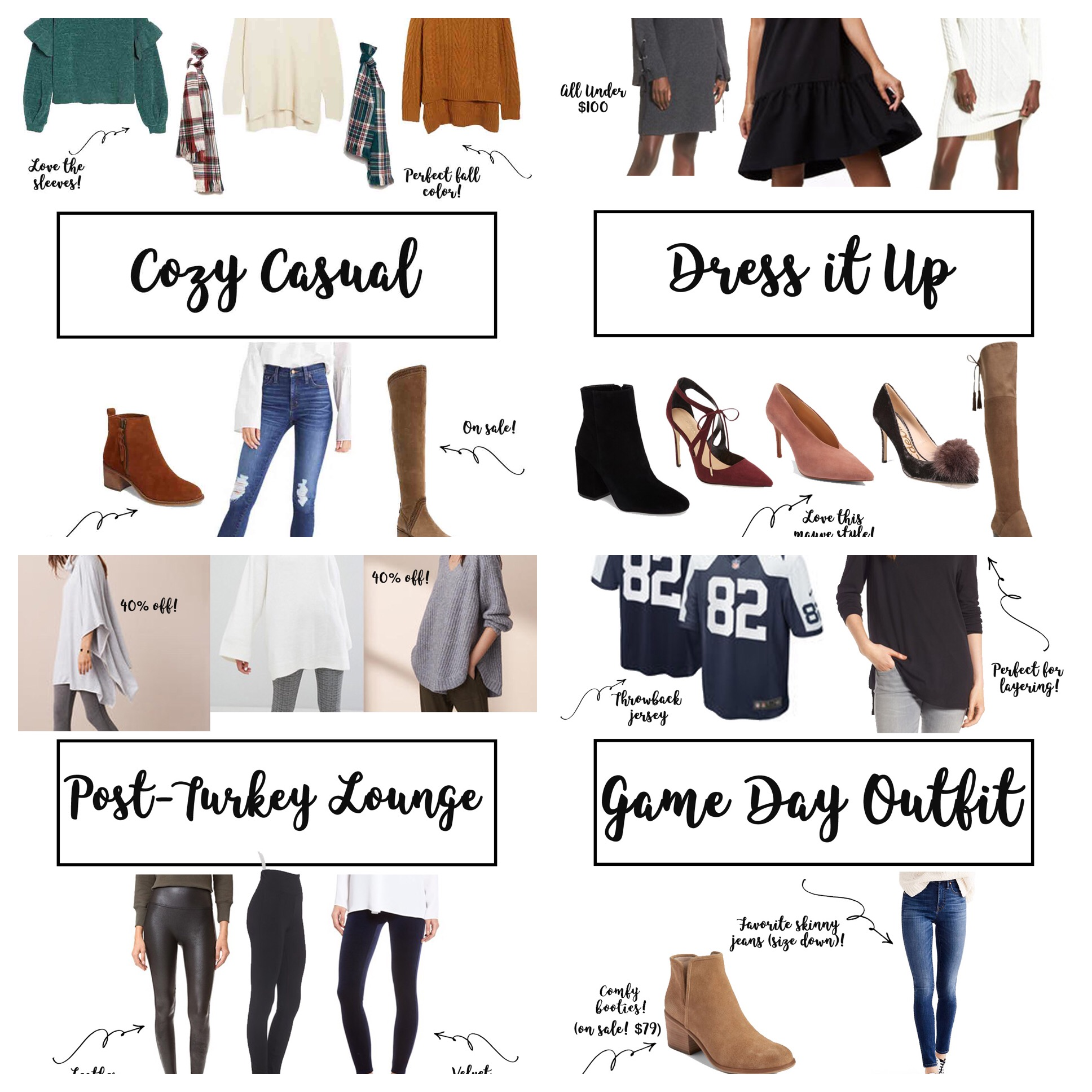 Thanksgiving Outfit Ideas & My Thanksgiving Tradition