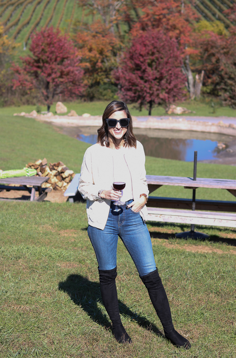Barrel Oak Winery - Day Trip to Virginia Wine Country with DCAcar by Washington DC blogger Cobalt Chronicles