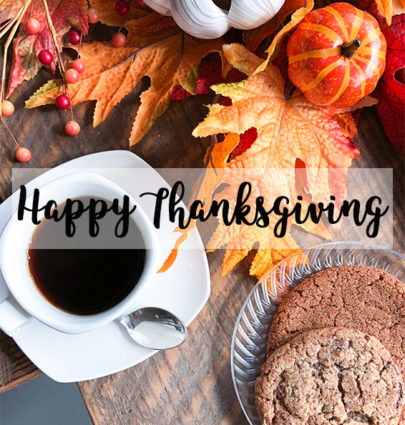 Happy Thanksgiving | Cobalt Chronicles | Washington DC | Style Blogger