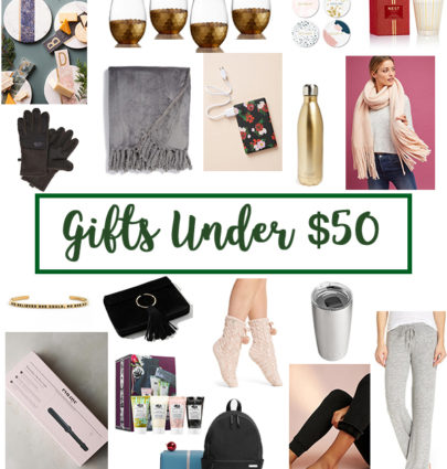 Gifts Under $50 | Cobalt Chronicles | Washington, DC | Style Blogger