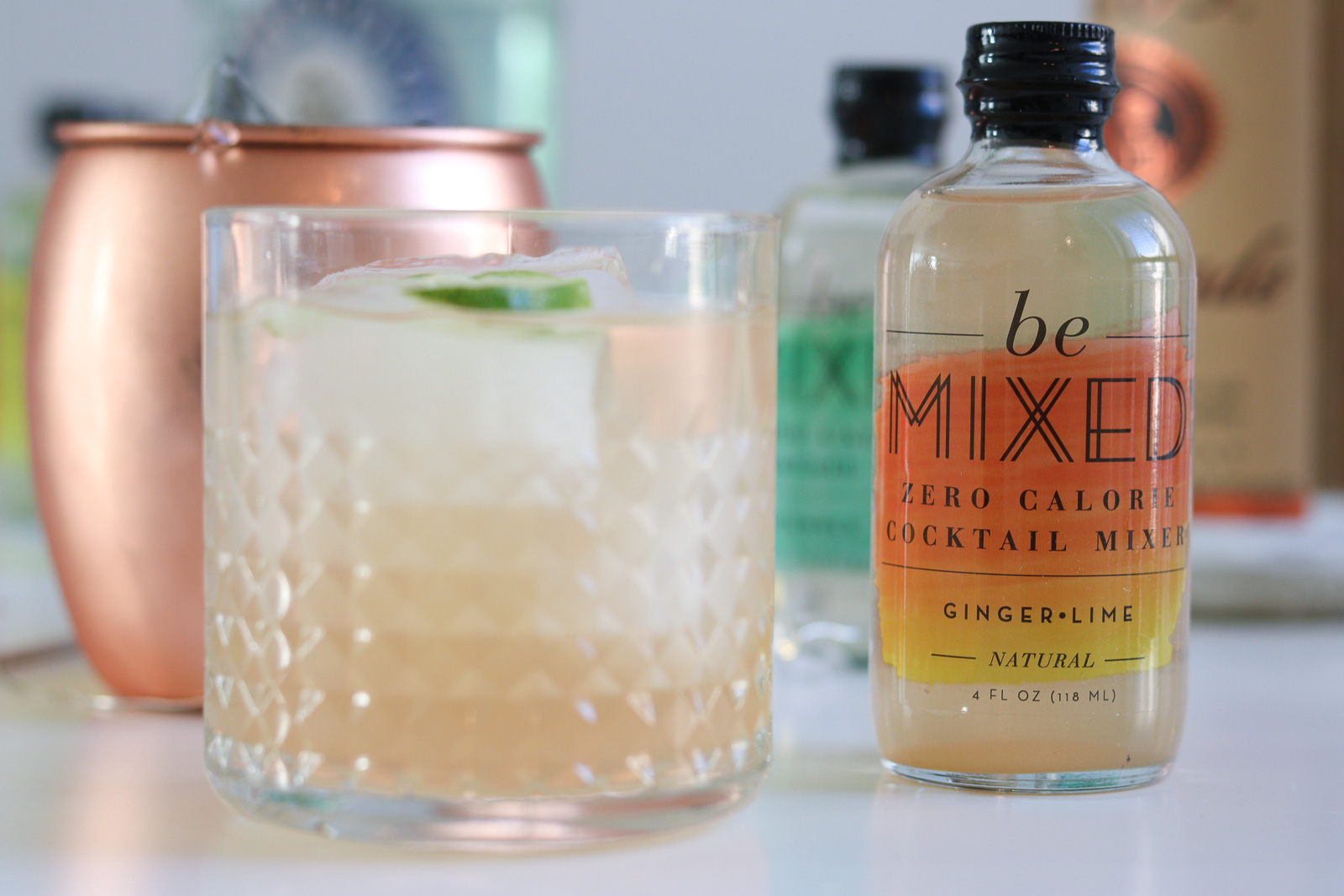 An Easy Cocktail Recipe with Be Mixed