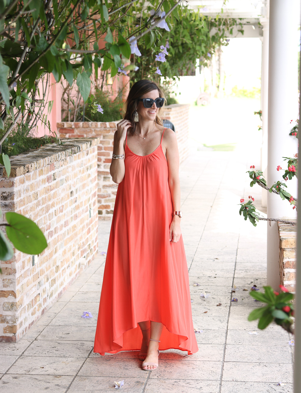 Maxi Dress for Summer Wedding | Cobalt Chronicles | Style Blogger