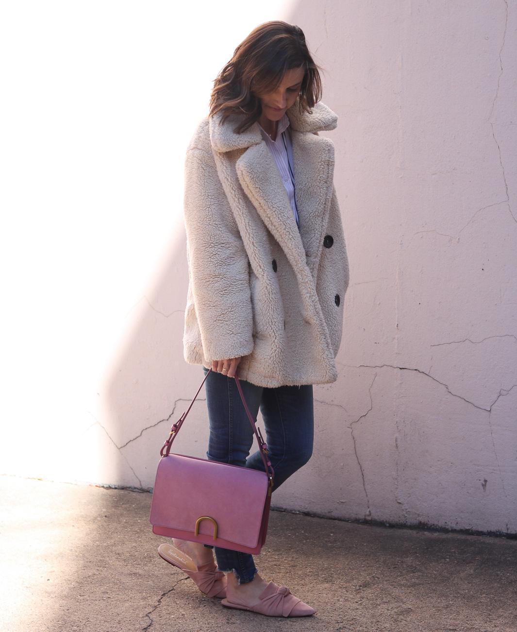 Fossil Blush Bag   Cobalt Chronicles   Washington DC   Style Blogger