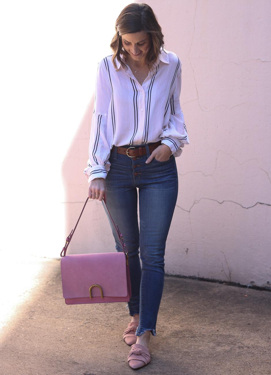 Blush Bag   Cobalt Chronicles   Washington DC   Style Blogger