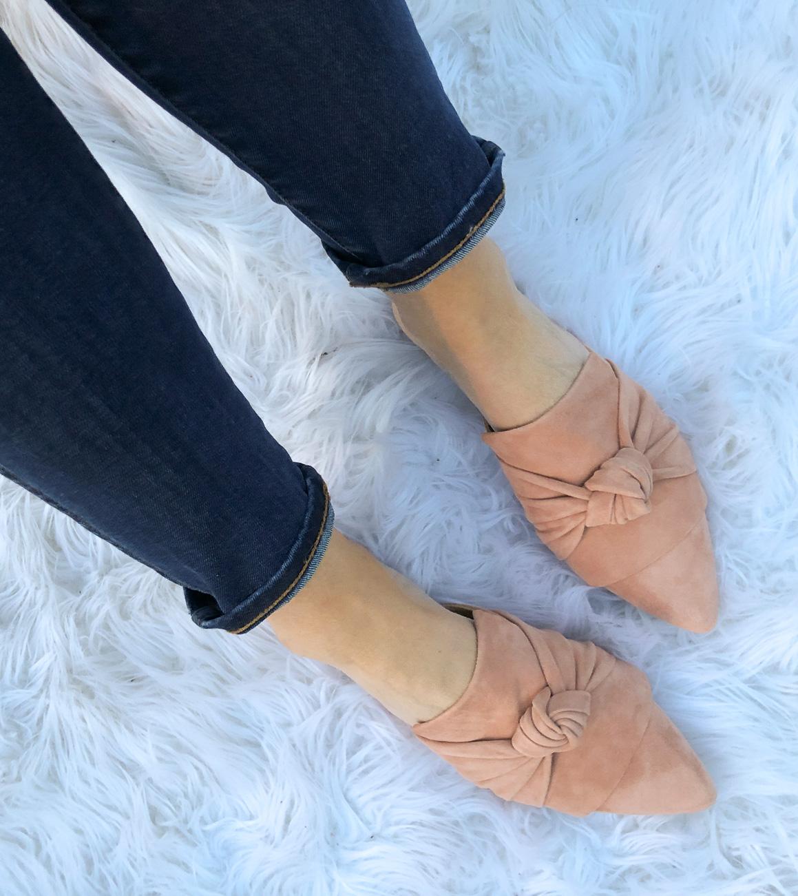 Best Blush Mules | Cobalt Chronicles | Washington, DC | Style Blogger