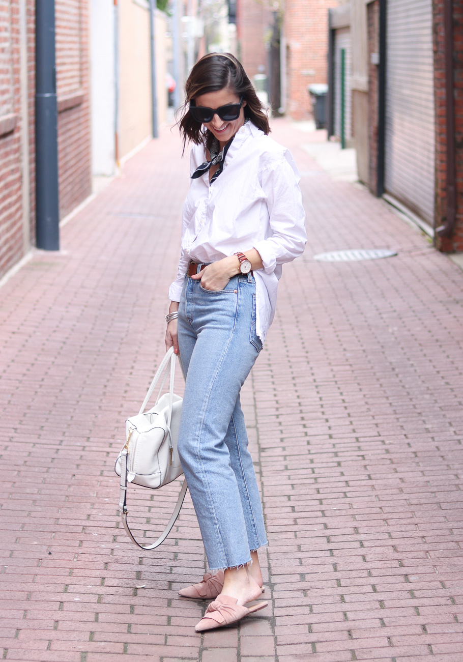 Levi's Wedgie | April Goals | Cobalt Chronicles | Washington, DC | Style Blogger