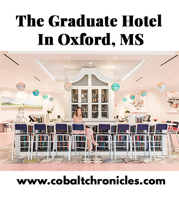 Graduate Hotel Oxford | Cobalt Chronicles | Washington, DC | Travel Blogger