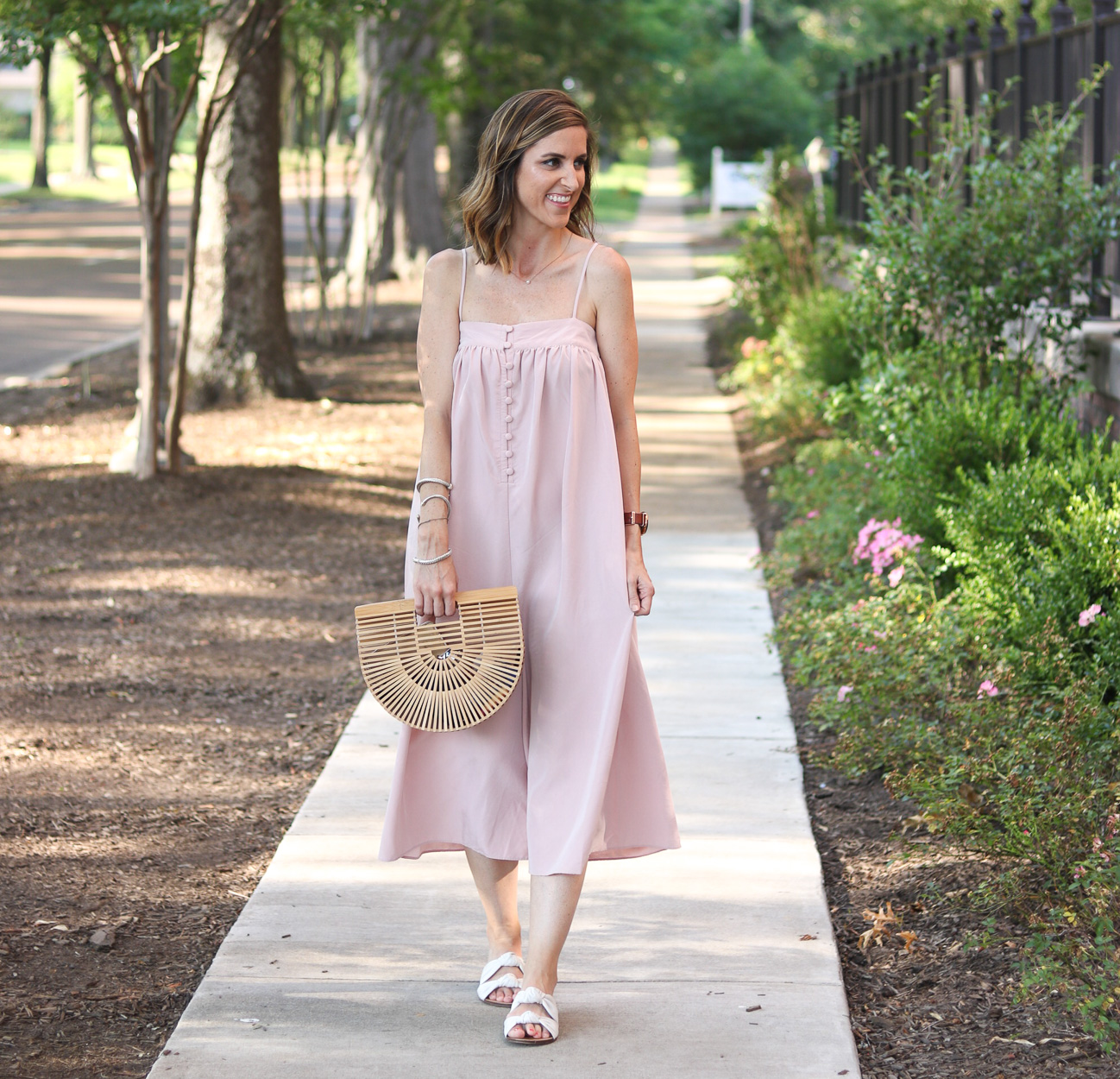The Blush Jumpsuit You Need In Your Closet